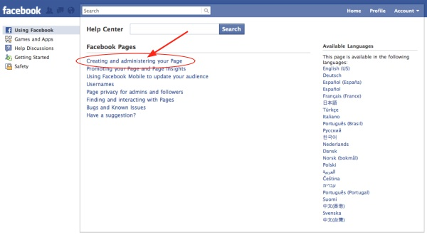 how to create fun page on facebook
