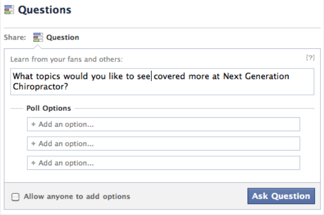how to add review option on facebook page
