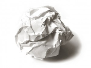 Wad of Paper