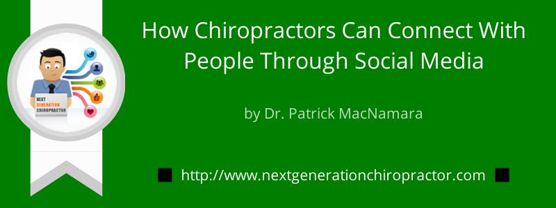Chiropractors Social Media