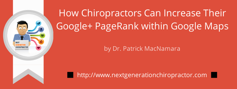 chiropractic marketing google maps