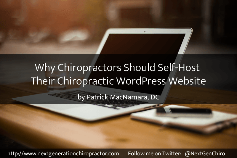 WordPress chiropractic website