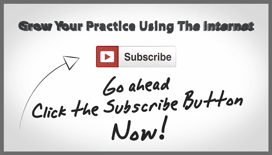 YouTube Chiropractic Marketing