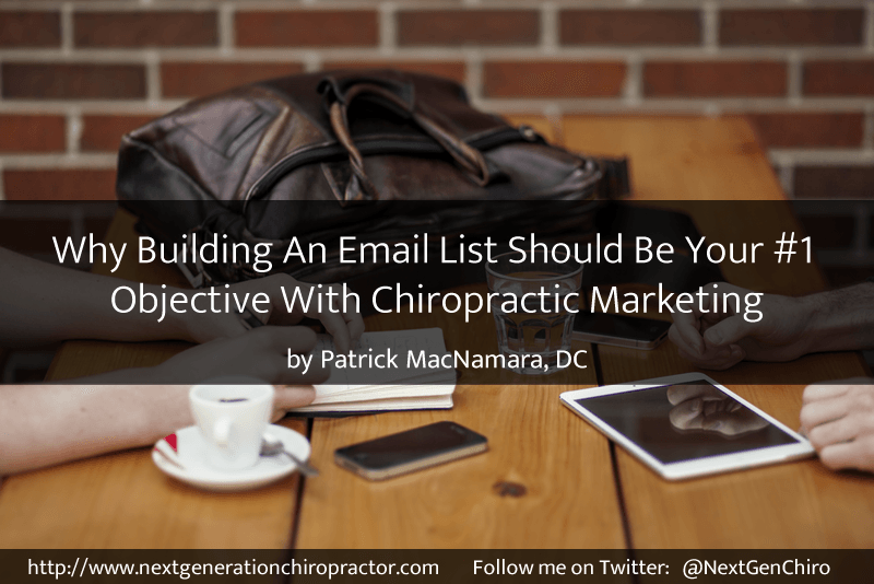 chiropractic marketing email list